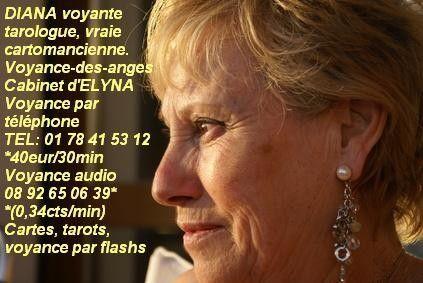 Voyance cartomancie: Diana vraie voyante cartomancienne
